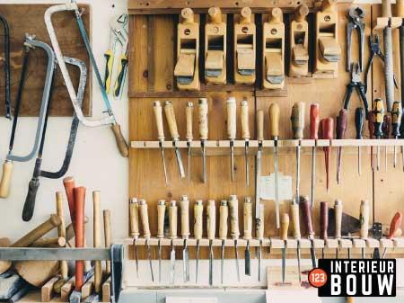 Interieur bouw meubels hout HPL