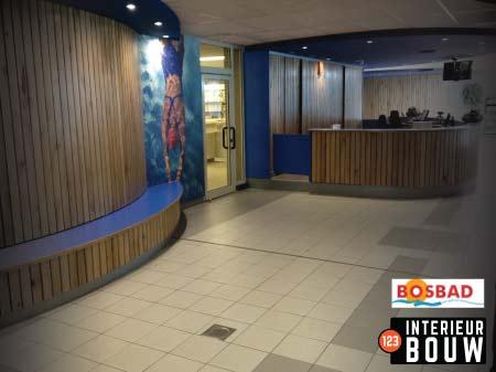 Zwembad-Bosbad-Interieur-Bouw-balie-entreehal