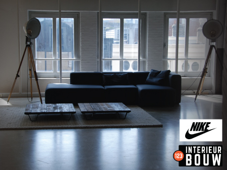 Kantoorpand - Nike Kalverstraat-sportcomplex-interieur-bouw