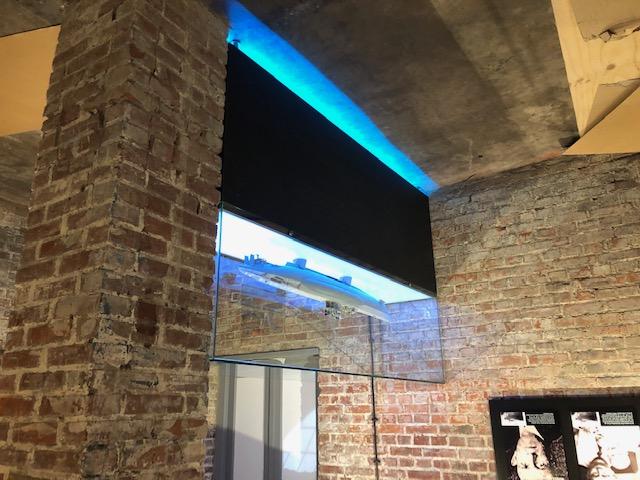 Vitrine display - bunker museum terschelling duikboot