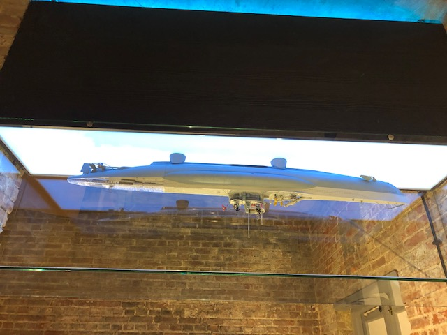 Vitrine display - bunker museum terschelling led verlichting