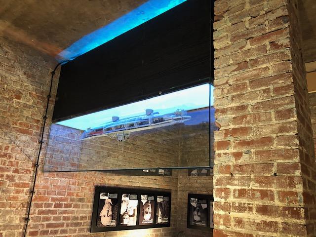 Vitrine display - bunker museum terschelling
